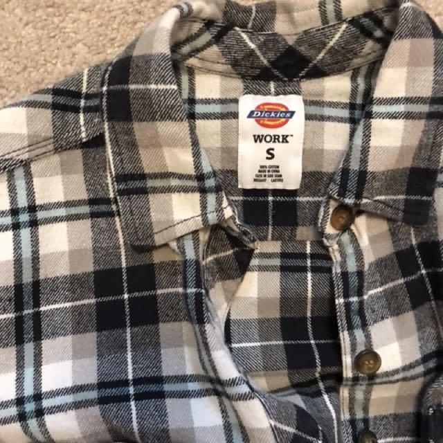 Vintage Dickies flannel size S