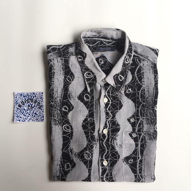 Vintage Karnaks Allover Printed Shirt