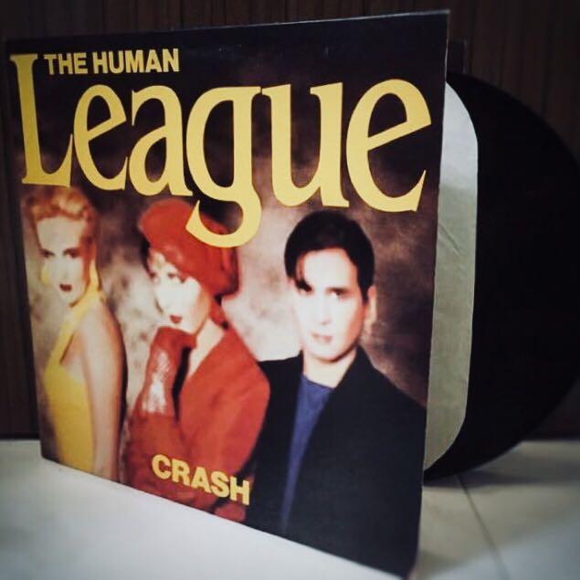 VINYL - THE HUMAN LEAGUE Crash (1986)