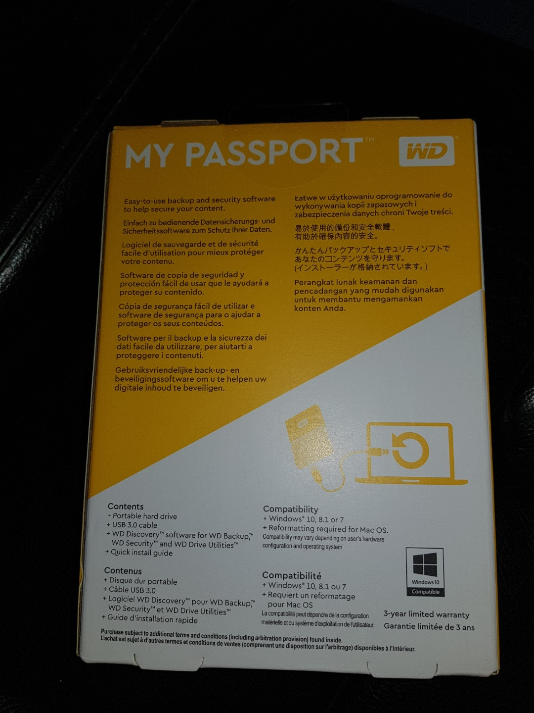 WD 2TB Hard Disk (My Passport)