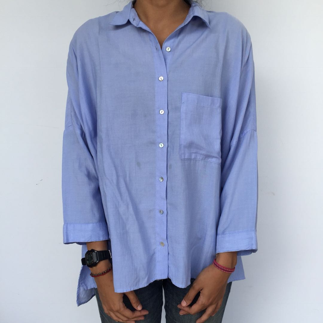 ZARA - Blue Shirt