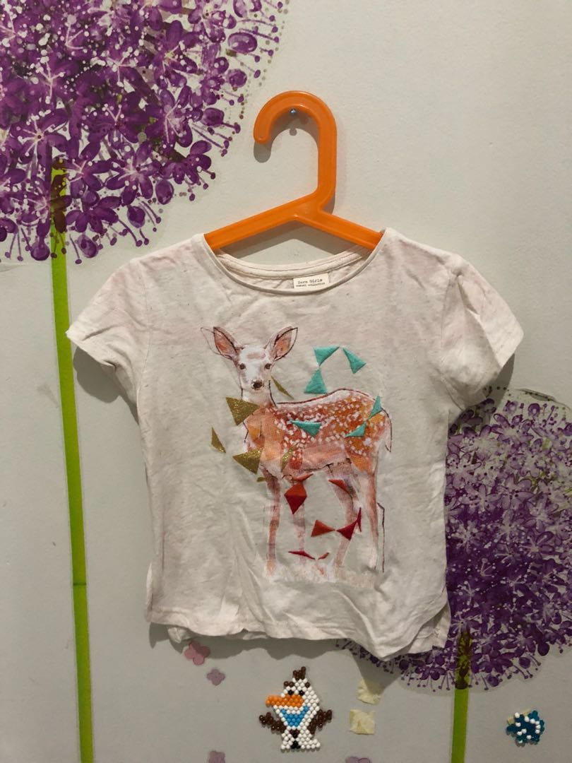 Zara Girls Tshirt #MakinTebel