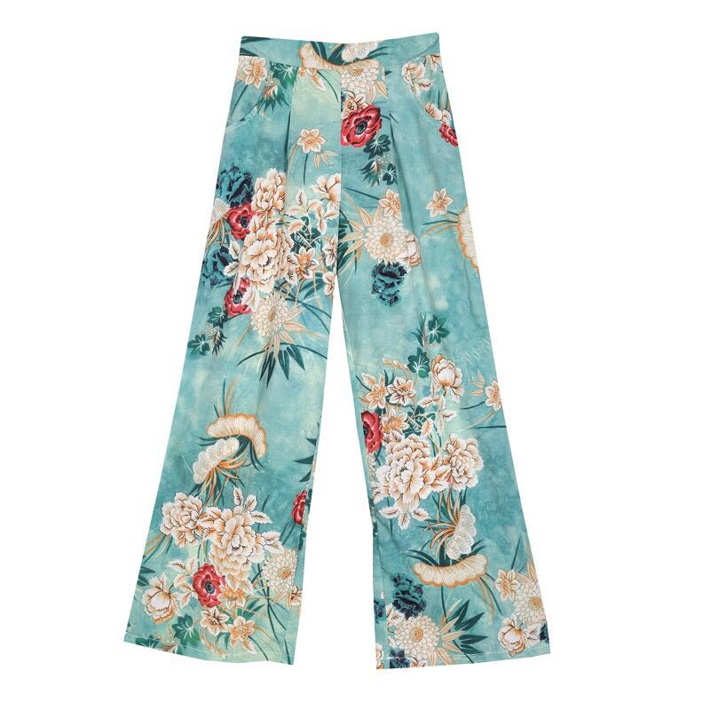 Zara Inspired Floral Pants