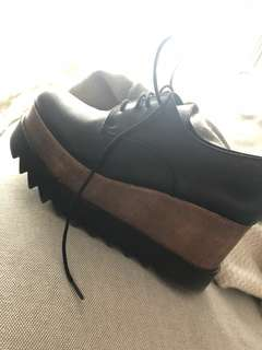 Lintervalle leather shoes