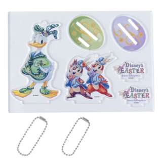Tokyo Disneysea Disneyland Disney Resorts Sea Land Easter 2018 Acrylic Stand with Chain Preorder