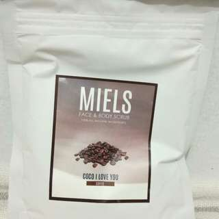Face and body Scrub Miels.id