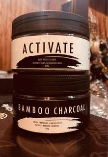 Activate&Bamboo charcoal face mask