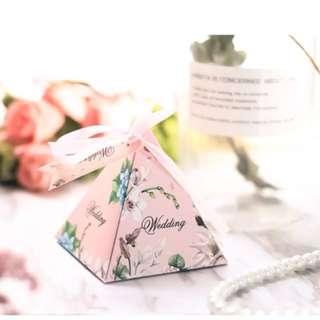 Wedding Door Gift Boxes (100 pcs)