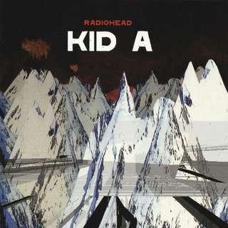 Vinyl: Radiohead - Kid A