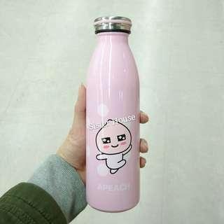🇰🇷Kakao Friends Apeach Stainless Bottle 500ml 不鏽鋼保溫壼