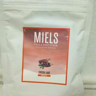Miels face and body scrub