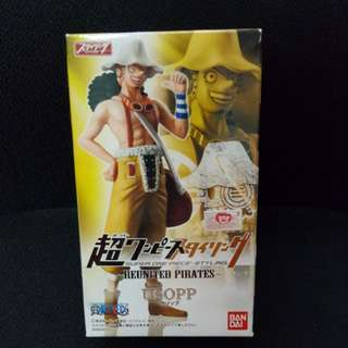 全新 Bandai One Piece 海賊王 Super Styling Reunited Pirates 烏索普 Usopp