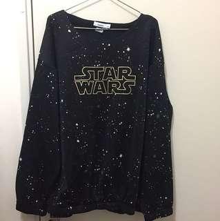 全新‼️Bossini Star Wars 長袖上衣