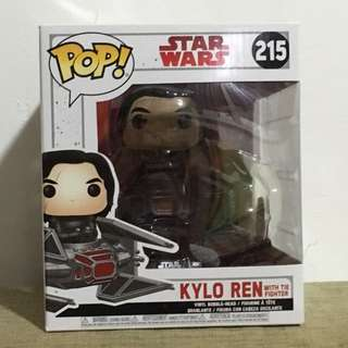 Star Wars Funko Pop Kylo Ren & Tie Silencer #215