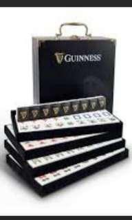 Guinness Mahjong Set