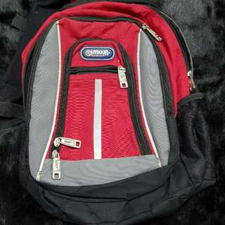 FREE needs repair red outdoor ranger backpack (1 item per transaction)
