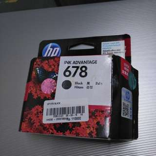 Cartridge Printer HP Seri 678 Black