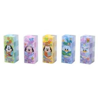Tokyo Disneysea Disneyland Disney Resorts Sea Land Easter 2018 Eraser Set Preorder