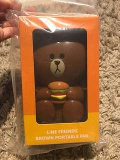 McDonald-Line Brown Bear portable fan