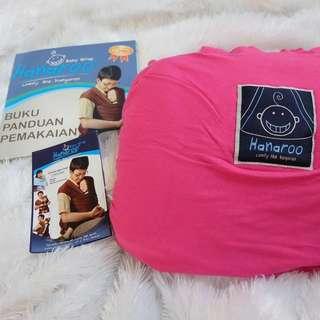Gendongan hanaroo pink