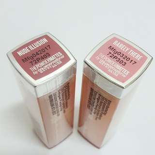 Maybelline Powder Matte Lipsticks