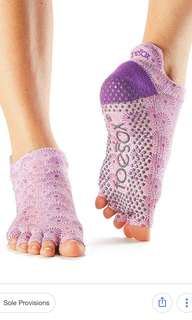 Toesox - Low Rise Half Toe - Tiare