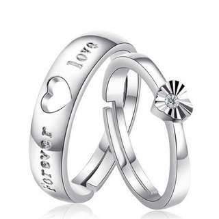 Sliver 925 Couple Ring(CR-003)