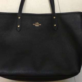 90%New coach tote bag