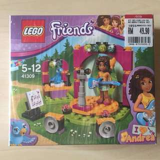 Lego Friends 41309 Andrea's Musical Duet MISB