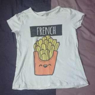 White Shirt - French #fesyen50