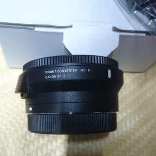 Sigma MC-11 Canon EF to Sony E-mount(EF-E)