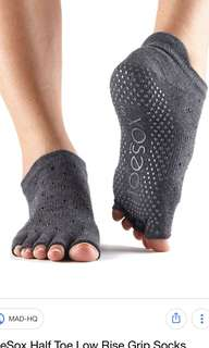 Toesox - Low Rise Half Toe - Sultry