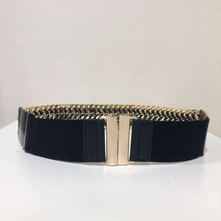 Zara Combined Chain and Elastic Belt