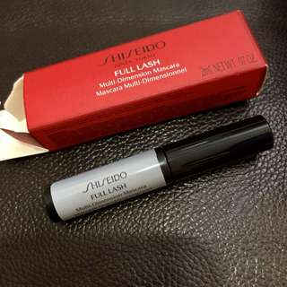 Shiseido sample mascara 2ml.