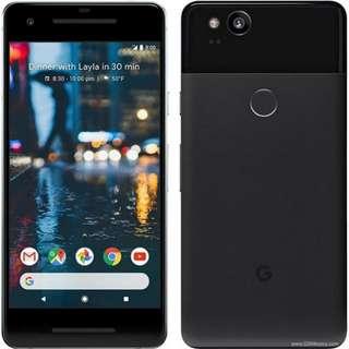 Google Pixel 2, NEW, 64GB, Black Color
