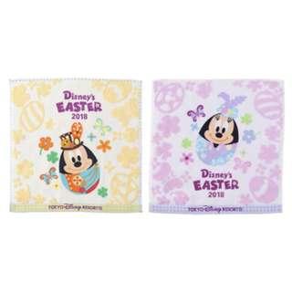 Tokyo Disneysea Disneyland Disney Resorts Sea Land Easter 2018 Egg Mini Towel Set preorder