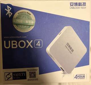 ubox4  TV box with Free live Channels