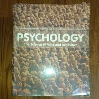PL1101E Psychology: The Science Of Mind And Behaviour