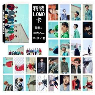 MONSTA X LOMO CARDS 30 PCS