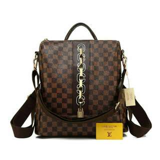 Louis Vuitton Ransel Premium (Damier Coffee)