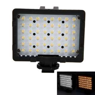 48 Piece Modular LED VIDEO LAMP LIGHT 3200k 5400k Lighting CAMERA DV DSLR MIRRORLESS CAMCORDER