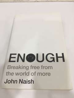 Enough by John Naish
