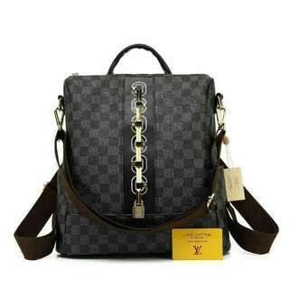 Louis Vuitton Ransel Premium (Damier Black)