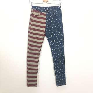 TOPSHOP America Design Skinny Pants Size 26