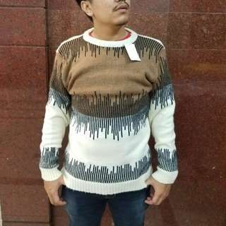 Sweater Boho Rajut Tebal