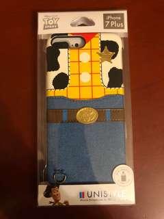 胡迪手機殼 香港迪士尼樂園  lphone7plus 可放卡