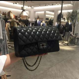 Chanel style 2.55 chain bag