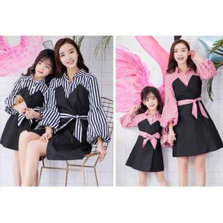 Mother and Daughter Matching Dress / Family Clothes Wear