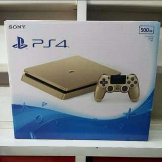 Pre-owned Playstation PS 4 500GB Gold