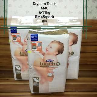 Pampers Drypers Touch
